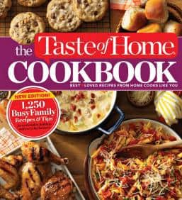 taste of home cookbook