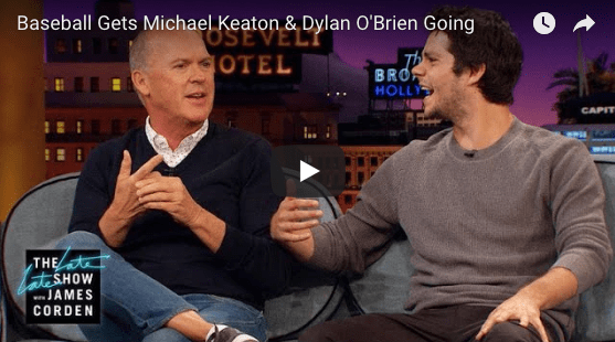 Michael Keaton Discusses the Pirates on The Late Late Show with James Corden