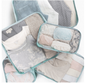 Mumi Packing and Toiletry Cubes